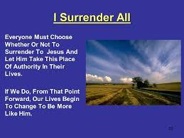 surrender 6